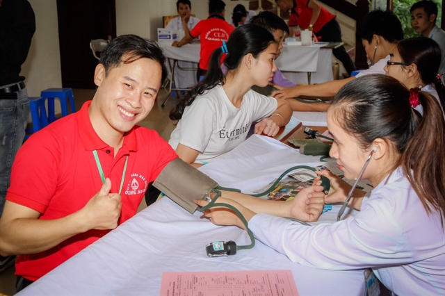 Losing hearing does not discourage young man in Quảng Ninh from helping others