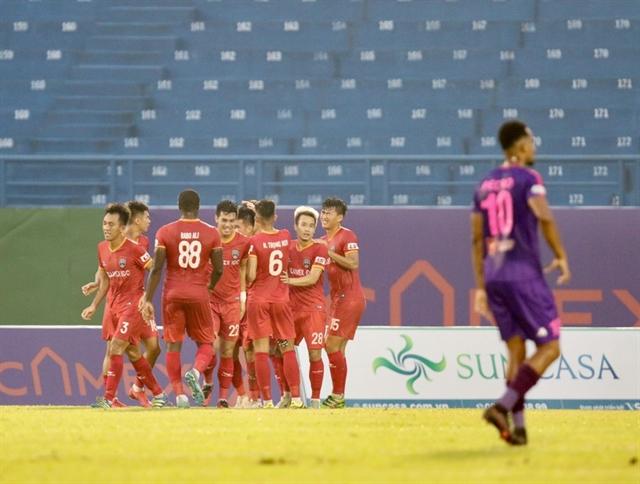 Sài Gòn FC boss confident team can still winV.League 1 despite defeat