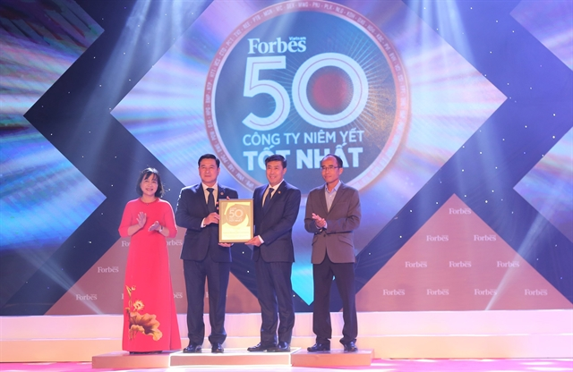 HDBank ranked among Việt Nams top 50 listed companies