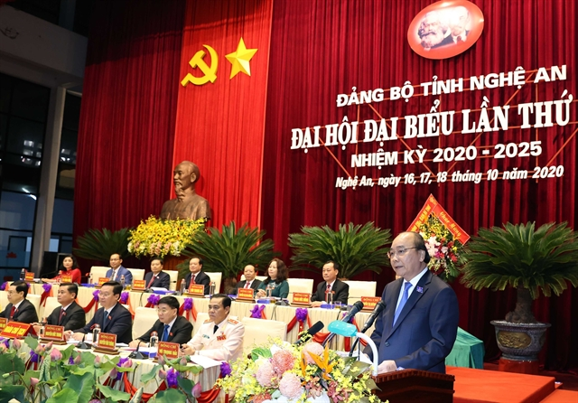 PM urges Nghệ An to form scientific complex of national standards