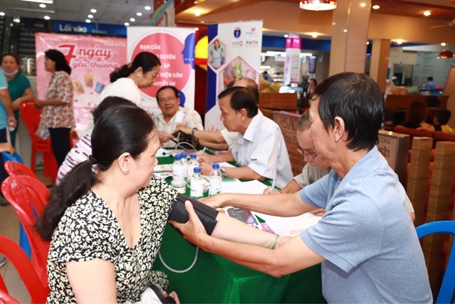 HCM Citys health sector sets up sites to screen for non-communicable diseases