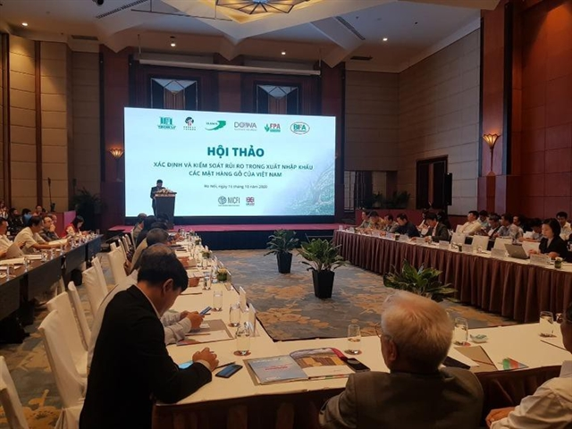 Control of legality of imported timber tightened
