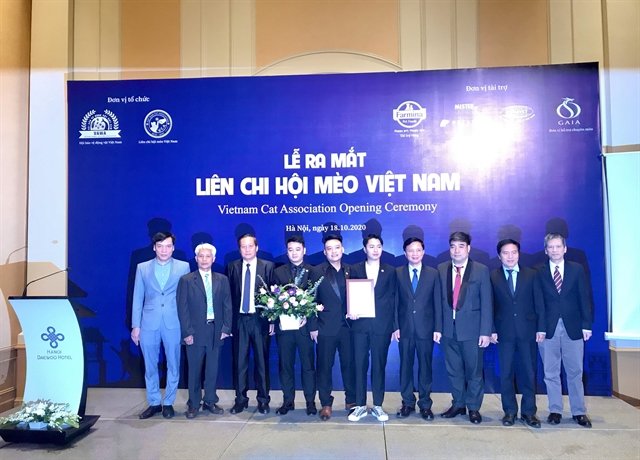 Association established for cat protection in Việt Nam