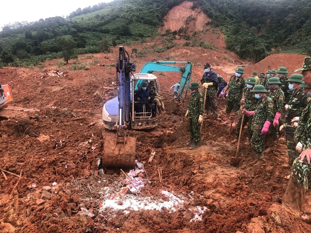 All bodies in Quảng Trịs landslide recovered