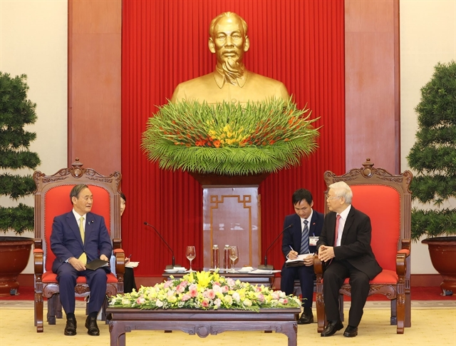 Việt Nam and Japan are strategic partners and good friends: General Secretary Trọng