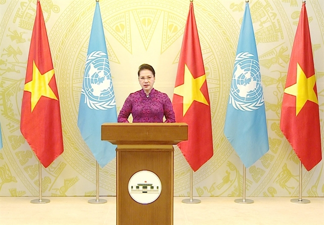 NA Chairwoman highlights gender equality in message to UN
