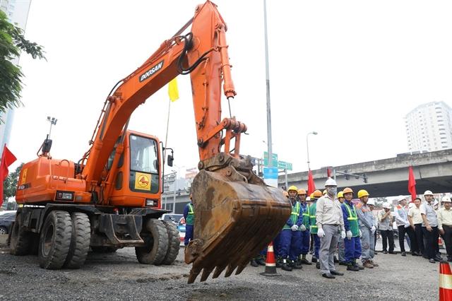 Construction work on 30m Lê Văn Lương-Ring Road 3 tunnel starts