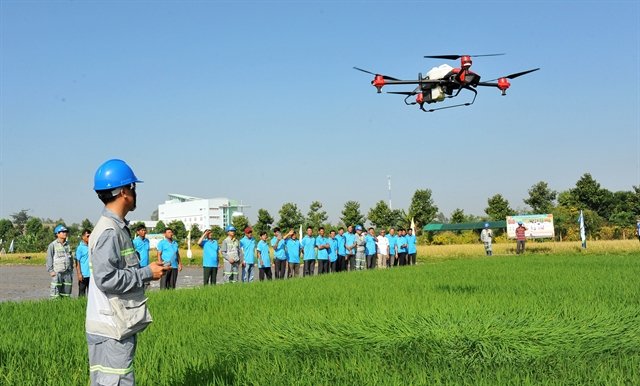 High-tech use contributes to growth value in agriculture