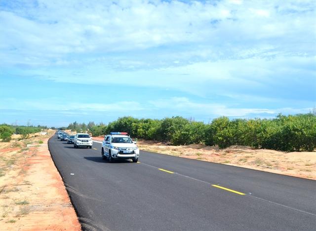 Key traffic route links coastal economic zone