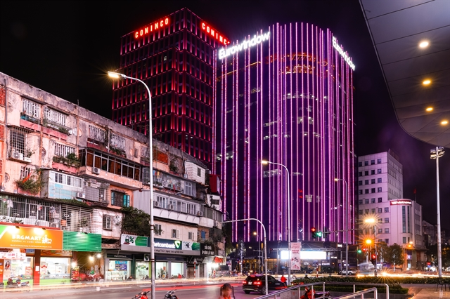 Buildings in Hà Nội and HCM City go pink for breast cancer month
