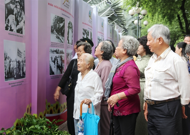 Photo exhibit celebrates 90th anniversary of Việt Nam Central Womens Union