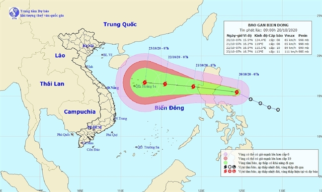 Weather forecasting centre rejects fake news about super typhoon