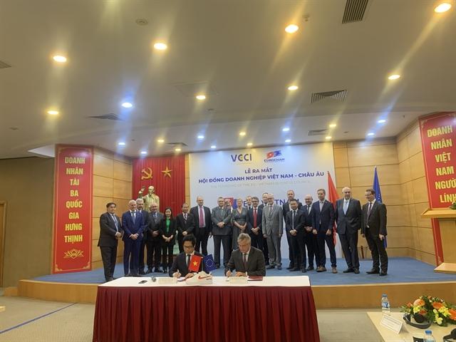 EuroCham VCCI launch European-VietnamBusiness Council
