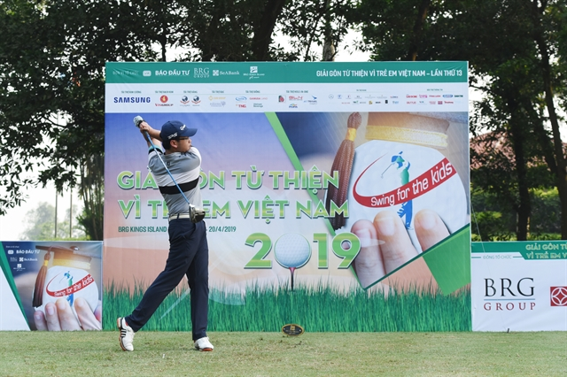 Golfers to tee off for kids next month