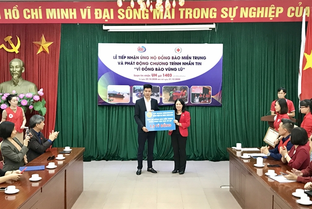VNRC launches SMS campaign to support flood victims in the central region