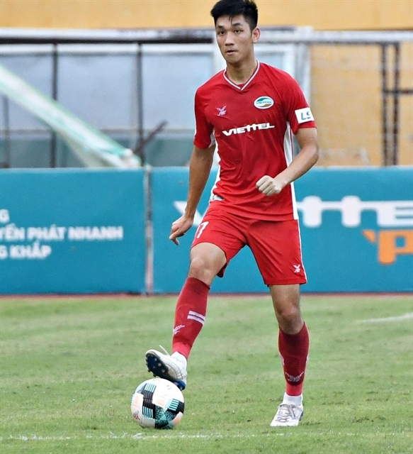 Midfielder Đại finding his best form