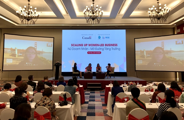 Forum helps scaling up women-led businesses in Việt Nam