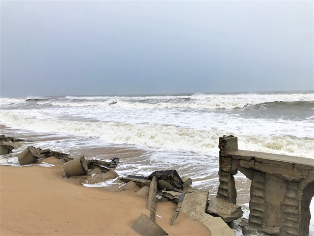 Storm Molave made landfall in central Việt Nam