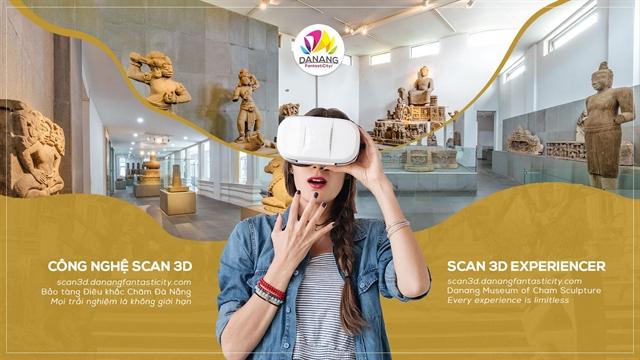 Chăm Museum introduces 3D experience