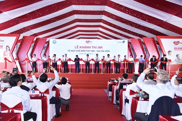 Masan MEATLife opens 77.6m meat processing complex in Long An acquires 51% of poultry company