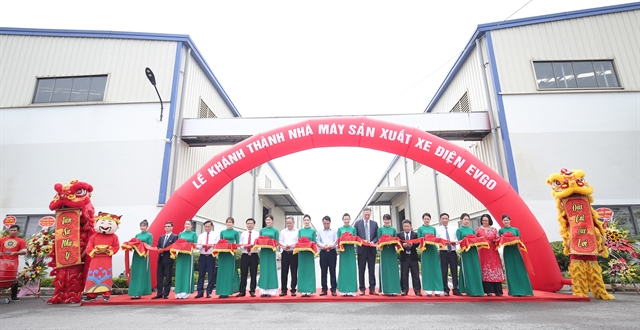 Sơn Hà Group inaugurates EVgo electric vehicle production plant