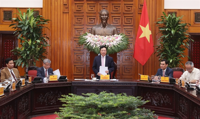 Deputy PM meets Việt Nam-ASEAN Association for Economic Cooperation Development delegation