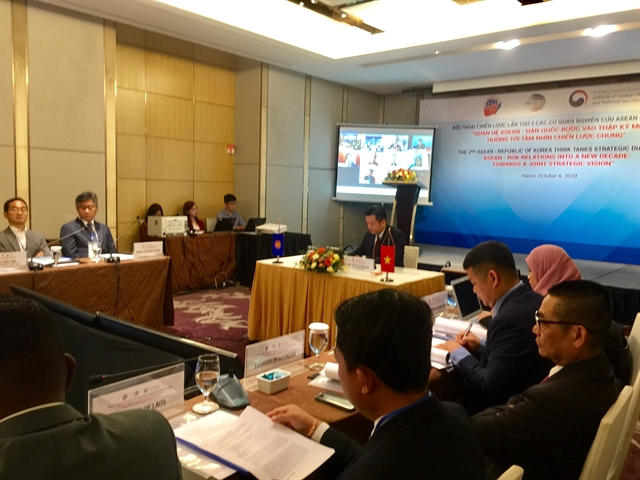 ASEAN-RoK think tanks discuss opportunities of strategic partnership