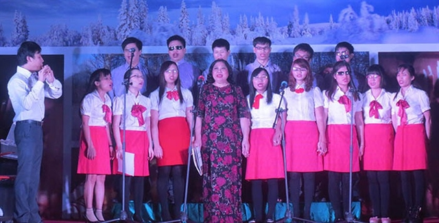 Hope choir presents concert to celebrate HNs anniversary