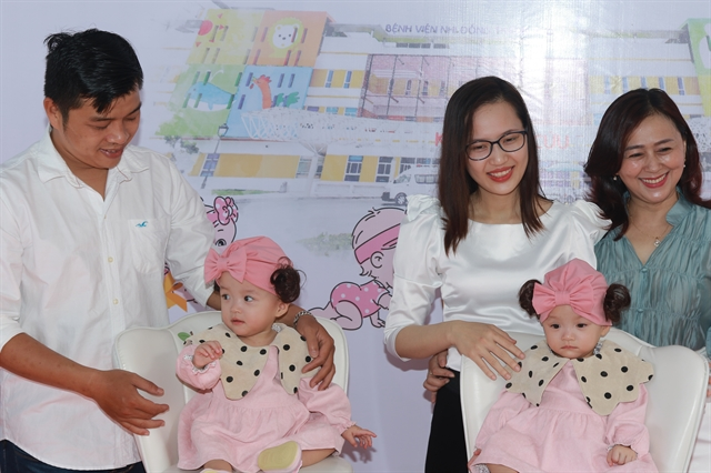 Separated conjoined twins discharged from HCM City hospital