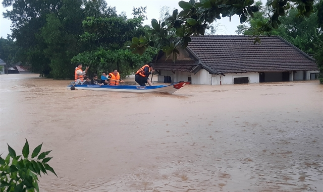 Severe floods kill five six missing in central and northern regions