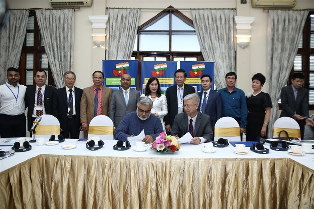 Vietnamese and Indian enterprises to build smart cities in Viet Nam