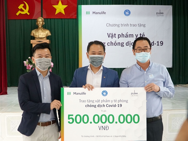 Manulife donates 21600 for medical supplies for COVID-19 frontline workers