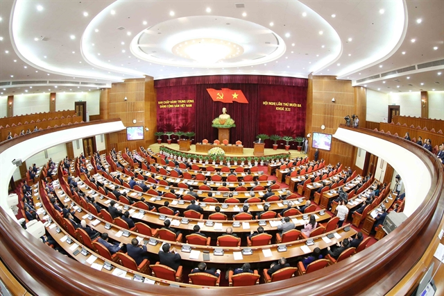 Party Central Committees 13th plenum concludes