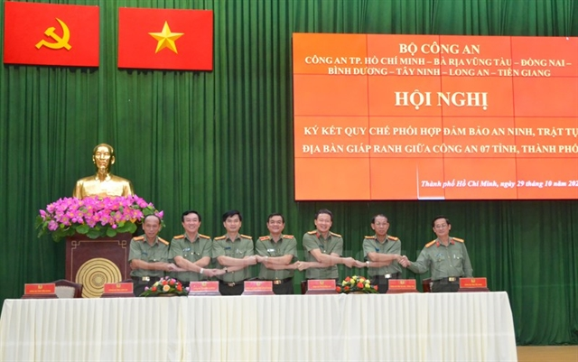 HCM City six provinces sign agreement onfighting crime