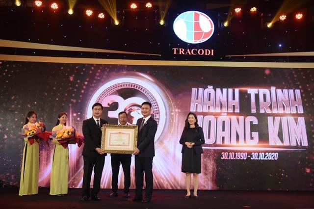 Tracodi receives PM certificate of merit