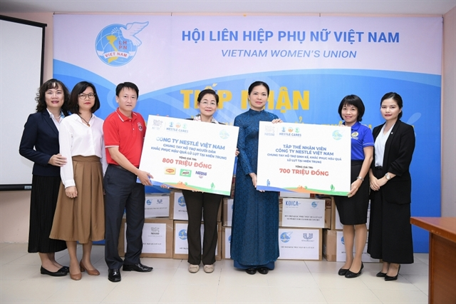 Nestlé Vietnam supports flood-hit areas
