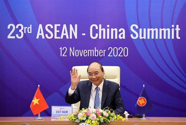 ASEAN-China ties among most substantive partner relations of ASEAN: PM Phúc
