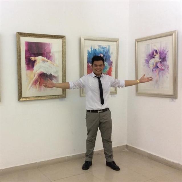 Hà Nộis seasonal appeal grabs young artist