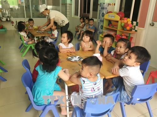 HCM City focuses on nursery schools in industrial parks export processing zones