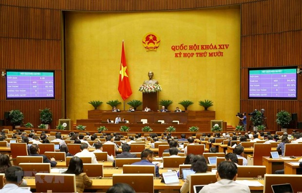National Assembly adopts revised laws