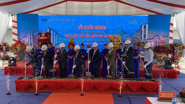 USI kicks off construction of electronic board manufacturing and assembly plant in Hải Phòng