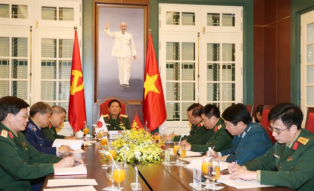 Vietnamese Japanese defence ministers hold phone talks