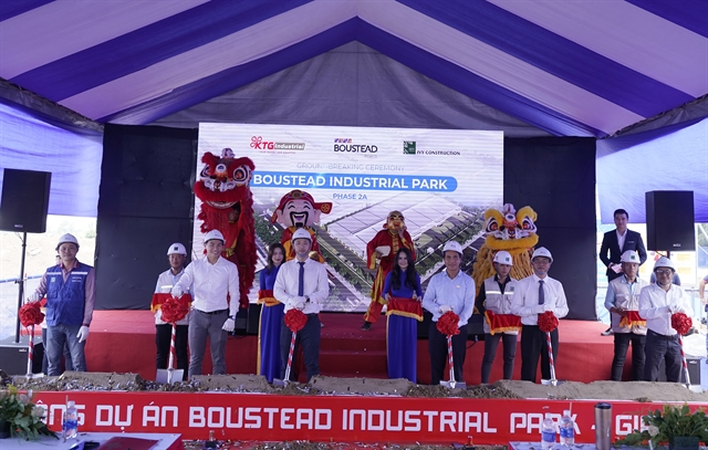 Construction on Boustead Industrial Park phase 2A in Đồng Nai begins