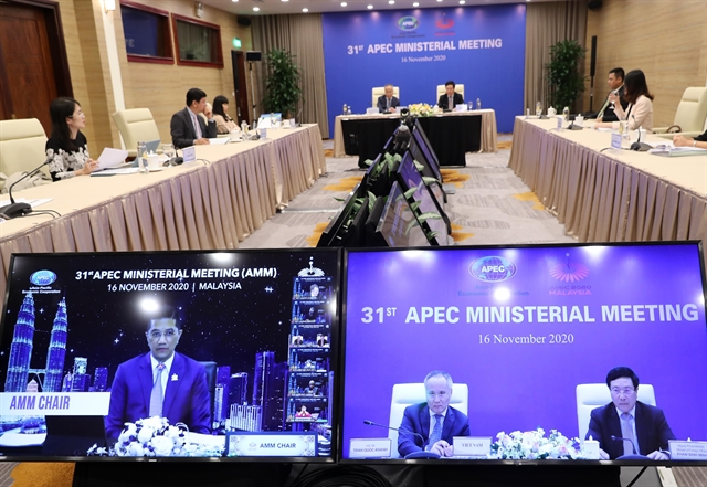 APEC members tighten cooperation to lead global economic recovery