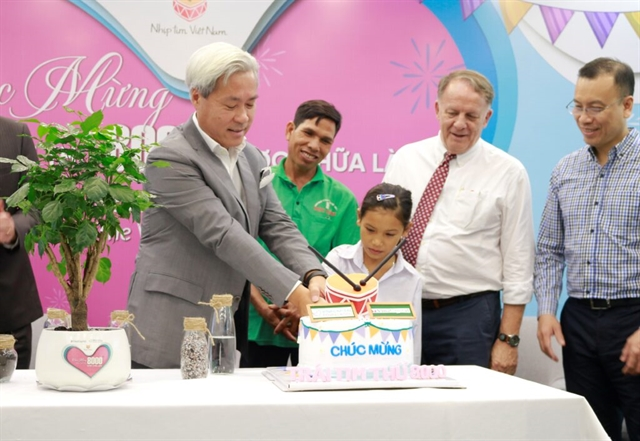 Heartbeat Vietnam funds operations for 8000 children with congenital heart disease
