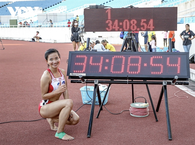 Runner Oanh ready for SEA Games after domestic success