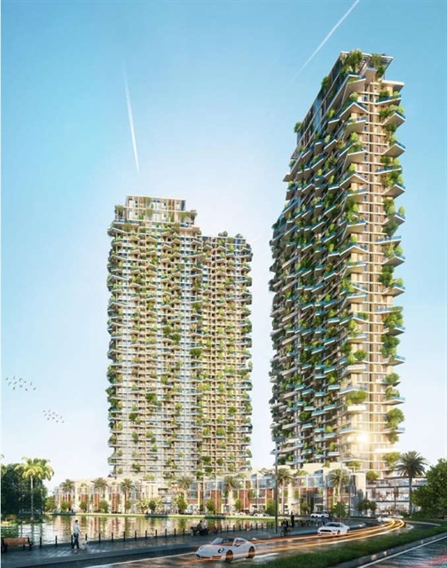 Foreign media laud Southeast Asias tallest vertical forest in Việt Nam