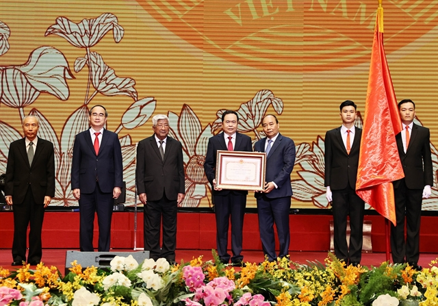 Việt Nam Fatherland Front urged to uphold its role in 90th founding anniversary