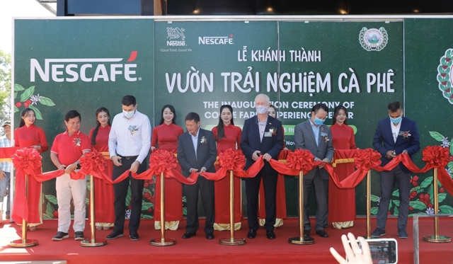 Nestle inaugurates Coffee Farm Experience Center in Buôn Ma Thuột