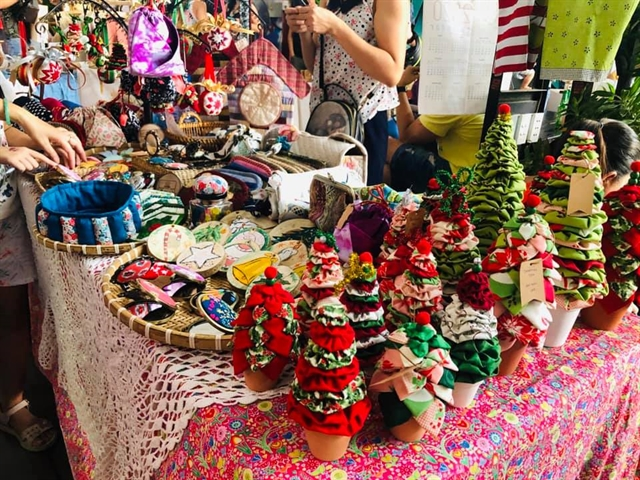 Vintage flea market and workshops at Saigon Outcast